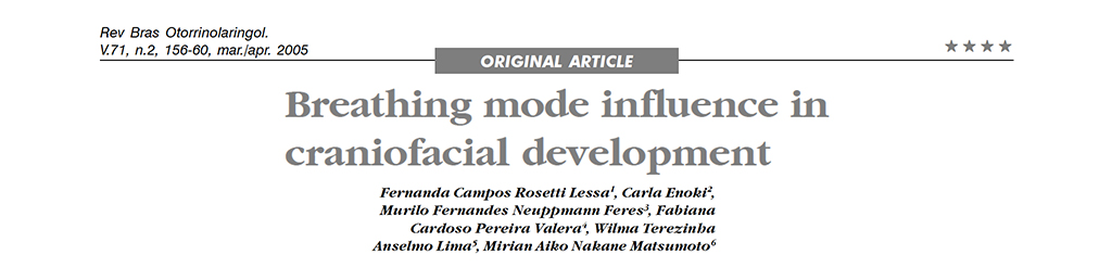Breathing Mode Influence in Crainiofacial Development